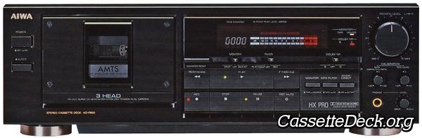 Kit 2 für Aiwa AD-F 810 Tape Deck Cassette Deck