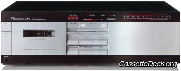 Nakamichi ZX-7 Kassettendeck Kassettendecks Elektronik & Foto ...