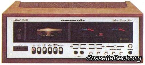 Marantz 5020 Stereo Cassette Deck | CassetteDeck org