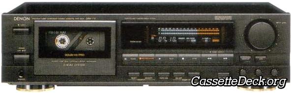 Denon DRM-710 Stereo Cassette Tape Deck | CassetteDeck org