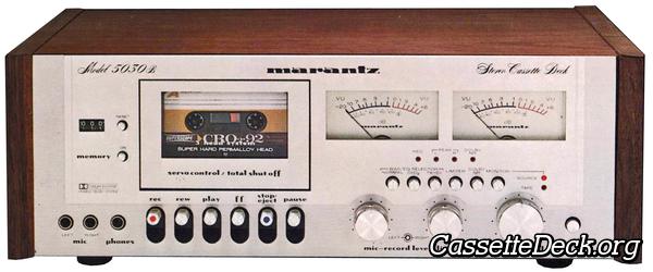 Marantz 5030B Stereo Cassette Deck   CassetteDeck org