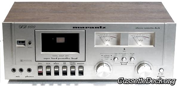 Marantz SD 800 Stereo Cassette Deck   CassetteDeck org