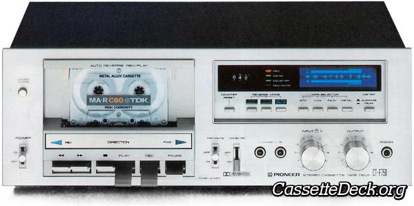 PIONEER  CT-F750//CTF-750//CTF750  BELT  KIT 5