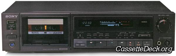 TCK555ES Belt Kit For Cassette Deck 2 Belts Sony TC-K555ES