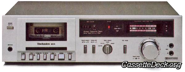 Technics RS-M14 Stereo Cassette Deck | CassetteDeck org